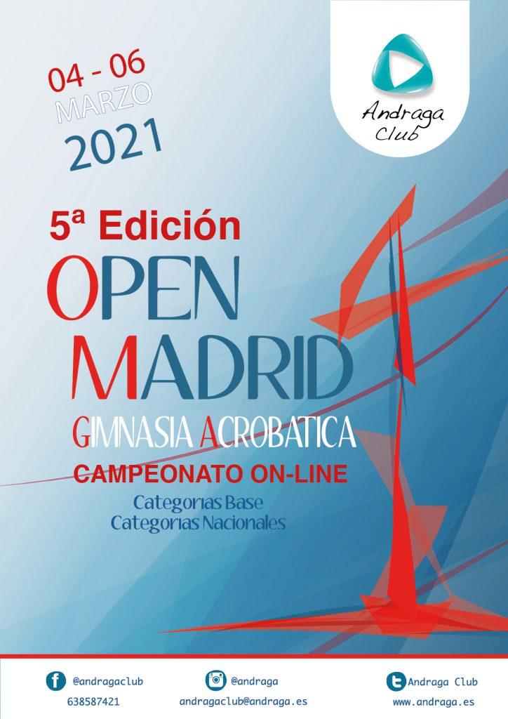 OPEN MADRID 2021 ON-LINE